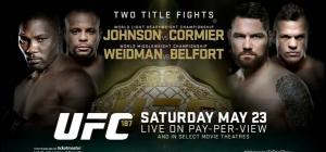 UFC187Poster
