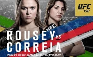 UFC190Poster