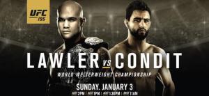 UFC 195poster